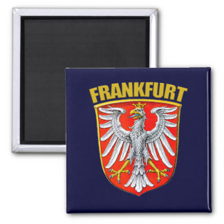 Frankfurt am Main 2 Inch Square Magnet