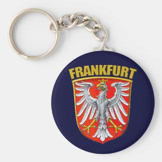 Frankfurt am Main Basic Round Button Keychain