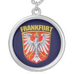 Frankfurt am Main Round Pendant Necklace