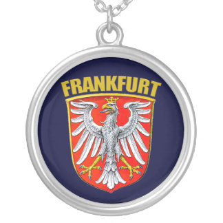 Frankfurt am Main Silver Plated Necklace