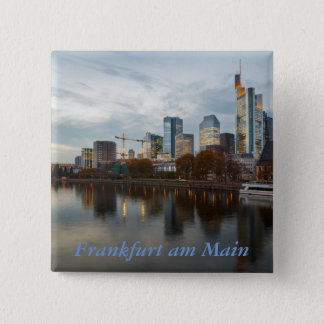 Frankfurt am Main skyline Button