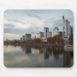 Frankfurt am Main skyline Mouse Pad