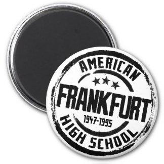 Frankfurt American High School 2 Inch Round Magnet