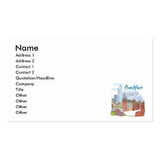 Frankfurt Business Card Template