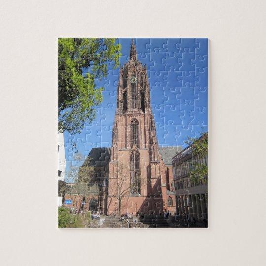Frankfurt Cathedral Jigsaw Puzzle