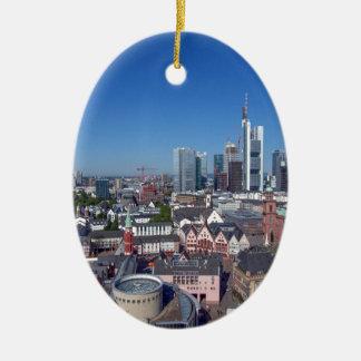 Frankfurt Ceramic Ornament