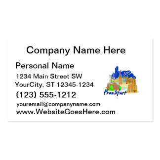 frankfurt city blue  travel vacation design.png business card template