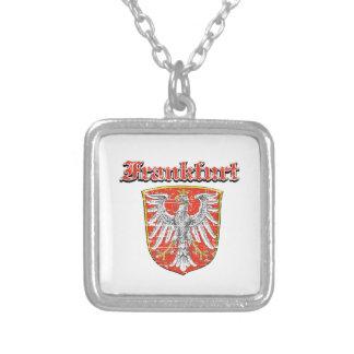 frankfurt City designs Square Pendant Necklace