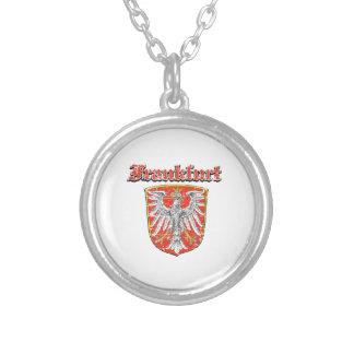 frankfurt City designs Round Pendant Necklace