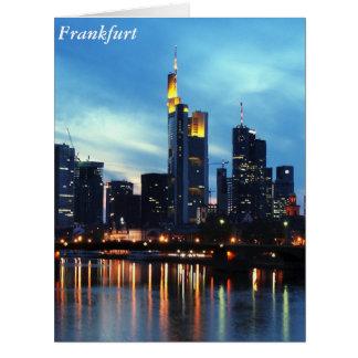 Frankfurt, Germany Card