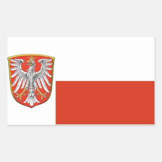 Frankfurt, Germany* Flag Sticker