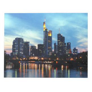 Frankfurt, Germany Notepad