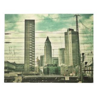 Frankfurt, Germany Notepads