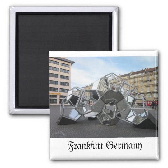 Frankfurt Germany Sculpture Magnet