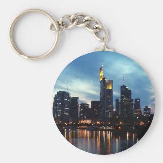 Frankfurt, Germany skyline Keychains