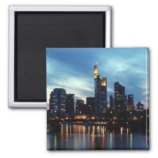 Frankfurt, Germany Skyline Refrigerator Magnet