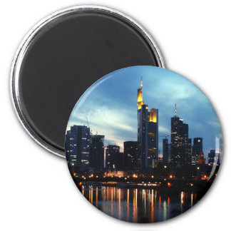 Frankfurt, Germany skyline Magnet