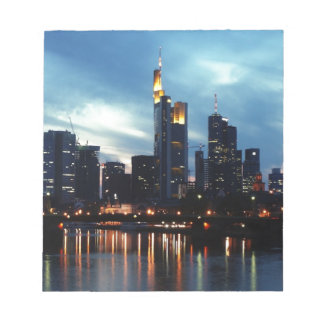 Frankfurt, Germany skyline Notepad