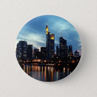 Frankfurt, Germany skyline Pinback Button