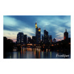 Frankfurt, Germany skyline Posters