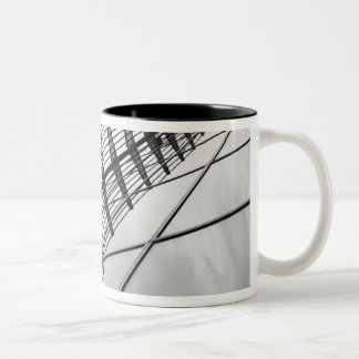 Frankfurt Germany, Terminal Exterior Two-Tone Coffee Mug
