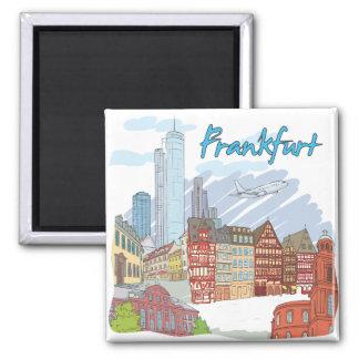 Frankfurt Refrigerator Magnets