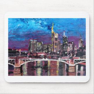 Frankfurt Main Germany - Mainhattan Skyline Mouse Pads