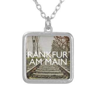Frankfurt Silver Plated Necklace