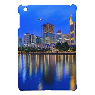 Frankfurt Skyline at Dusk Cover For The iPad Mini