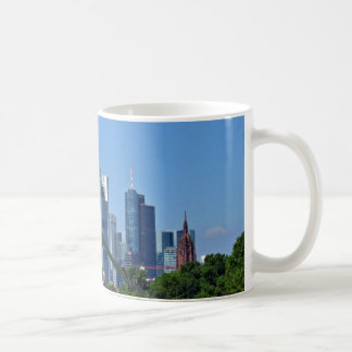 Frankfurt skyline coffee mug