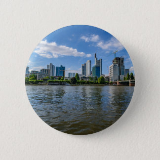 Frankfurt Skyline Pinback Button