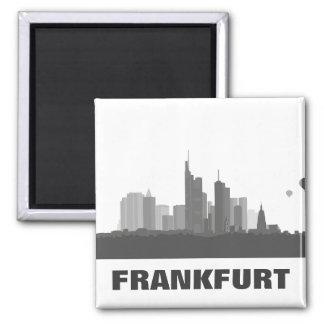 Frankfurt skyline refrigerator magnet