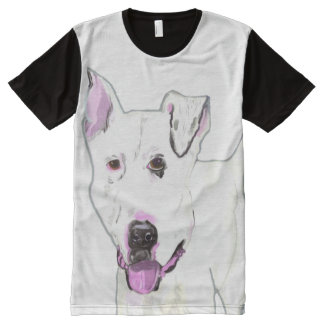 Frankie All-Over Print T-shirt