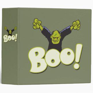 Frankie Antihero Superhero Frankenstein Halloween Binder