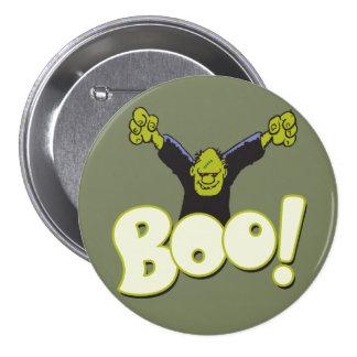 Frankie Antihero Superhero Frankenstein Halloween Button