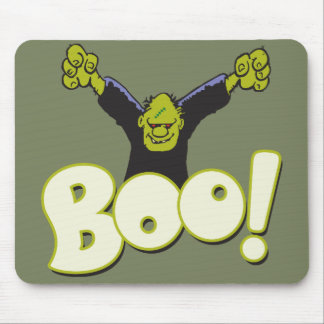 Frankie Antihero Superhero Frankenstein Halloween Mouse Pad