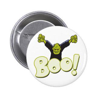 Frankie Antihero Superhero Frankenstein Halloween Pinback Button