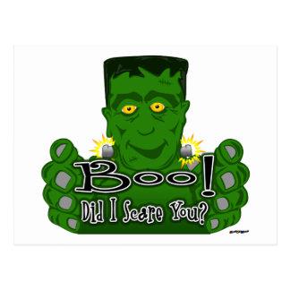 Frankie Boo! Did I Scare You? Postcard