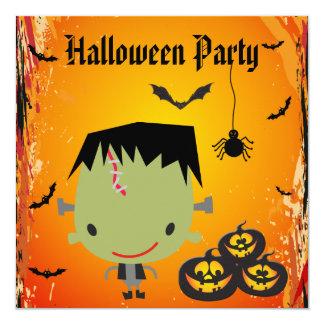 Frankie, calabazas, palos y fiesta de Halloween de