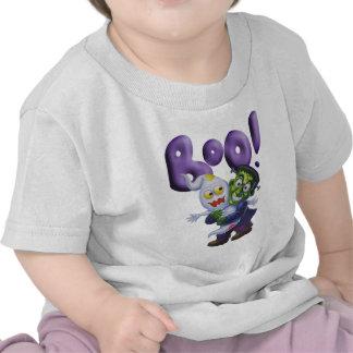 Frankie divertido da a fantasma lindo un susto - A Camiseta