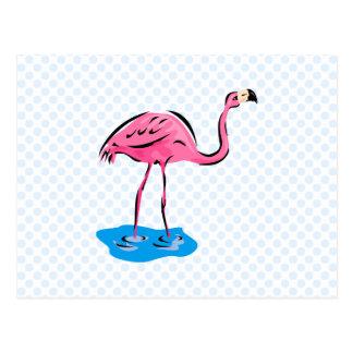 Frankie Flamingo Postcard