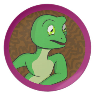 Frankie Frog Party Plate