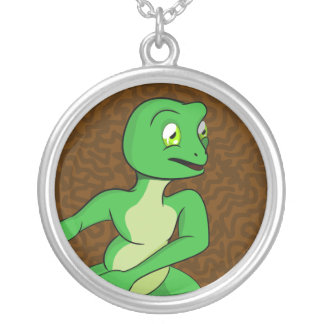 Frankie Frog Silver Plated Necklace