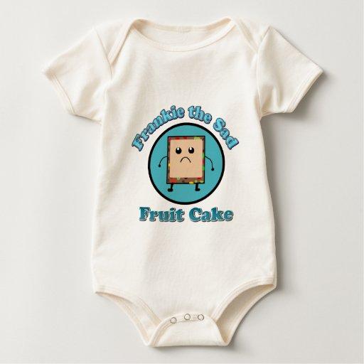 Frankie la camisa triste del bebé de la torta de