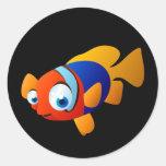 Frankie los pescados etiquetas