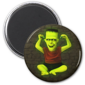 Frankie Play With Bolts! Fridge Magnet