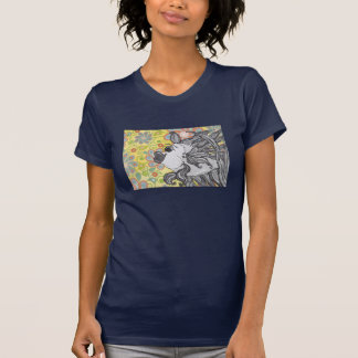 Frankie the Fighting Fish 15 Ladies T Shirt