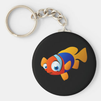Frankie The Fish Keychain