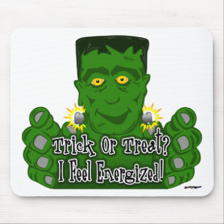 Frankie Trick Or Treat I Feel Energized Mouse Pad