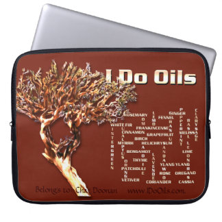 Frankincense (Boswellia) Tree Laptop Sleeve